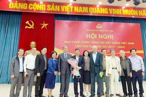 Ông Đặng Việt Dũng - nguyên Phó Chủ tịch UBND TP Đà Nẵng được bầu làm Chủ tịch Tổng hội Xây dựng Việt Nam