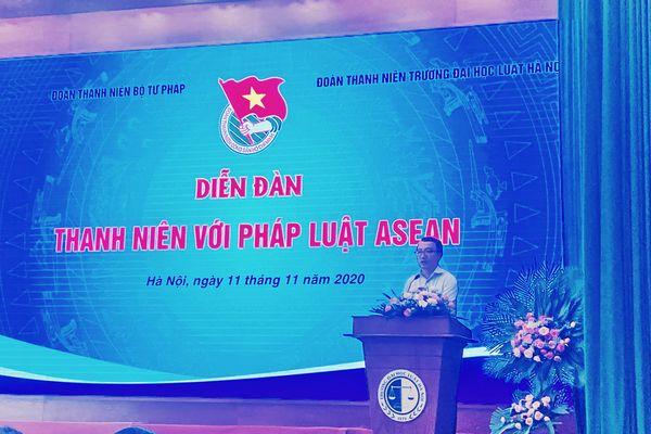 Thanh niên với pháp luật ASEAN: Lan tỏa tinh thần thượng tôn pháp luật