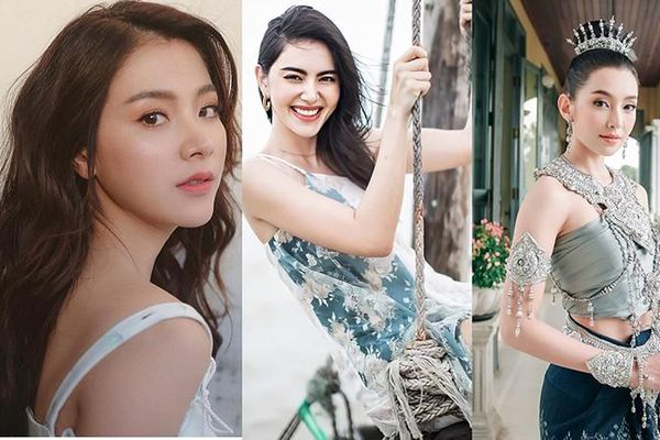 Nhan sắc 5 'bóng hồng' quyến rũ nhất màn ảnh Thái Lan