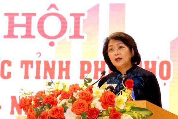 Phú Thọ: Phó Chủ tịch nước dự Ngày hội Đại đoàn kết xã Vĩnh Lại