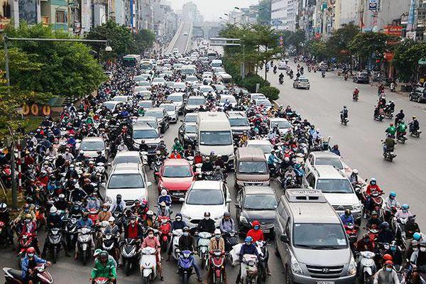 Bất cập giao thông ở Ngã Tư Sở