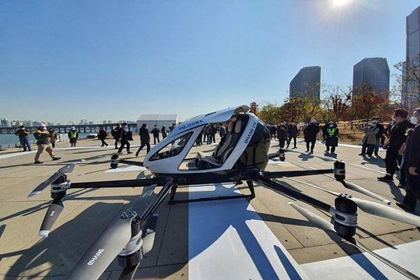 Hàn Quốc thử nghiệm 6 mẫu taxi bay không người lái
