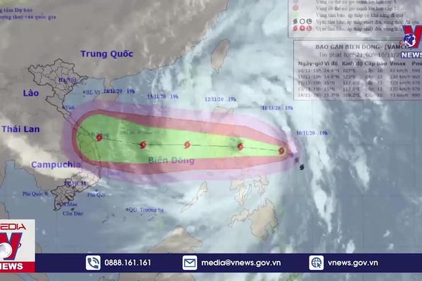 Bão Vamco gây thiệt hại tại Philippines