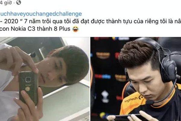 Cộng đồng Esports Việt đua nhau bắt trend mới 'ngày ấy - bây giờ', Thầy Ba lịch lãm, Captain Gấu siêu ngầu trong màu áo Team Flash