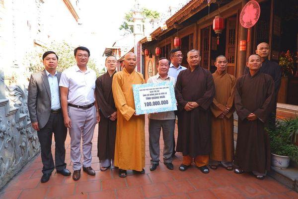 Hà Nội, Lạng Sơn : Làm việc với đoàn Phật giáo Quảng Ngãi