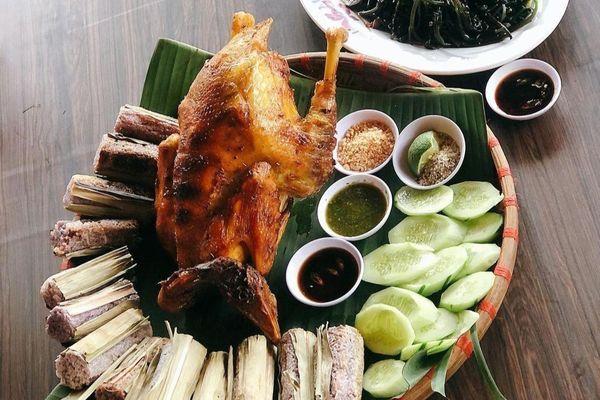 Địa chỉ thưởng thức gà nướng cơm lam tại Đà Lạt