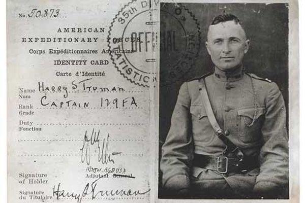 Tổng thống Mỹ duy nhất từng tham gia Thế chiến I