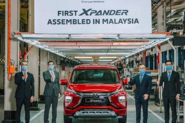 Xpander 2021 lên kệ tại Malaysia, giá từ 512 triệu đồng