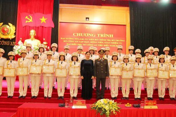 Chú trọng xây dựng đội ngũ cán bộ nữ trong lực lượng Công an nhân dân