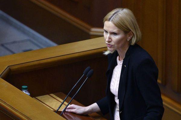 Quốc hội Ukraine lần đầu tiên do nữ Chủ tịch điều hành khi Chủ tịch bị Covid-19