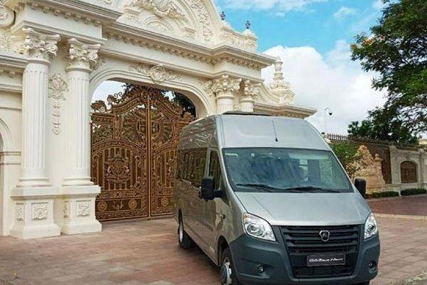 Dòng xe minibus GAZ sản xuất tại Nga đã có mặt tại Việt Nam