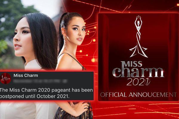 Miss Charm dời lịch sang năm 2021: Quỳnh Nga - đại diện Việt Nam có thêm cơ hội hoàn thiện bản thân