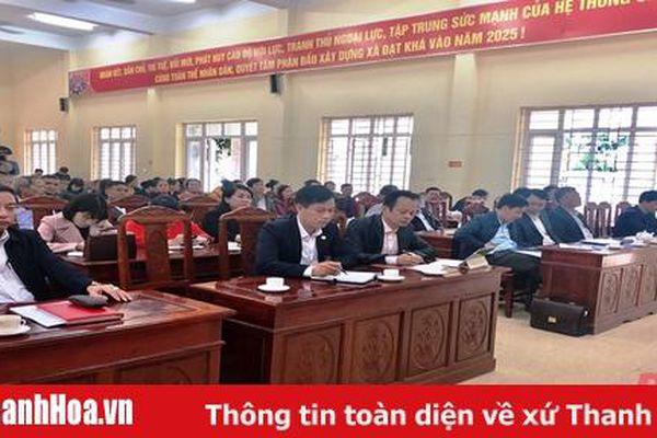 Tổ đại biểu HĐND tỉnh tiếp xúc cử tri huyện Thiệu Hóa