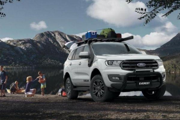 Ford Everest 2021 phiên bản 'xe phượt' ra mắt, giá từ 47.350 USD