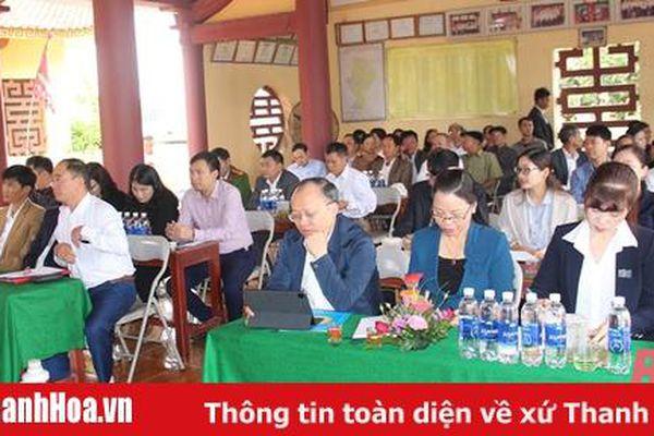 Tổ đại biểu HĐND tỉnh tiếp xúc cử tri huyện Đông Sơn