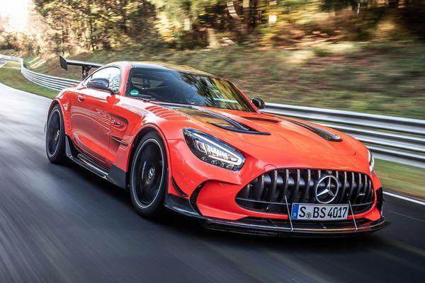 Mercedes-AMG GT Black Series lập kỷ lục mới tại trường đua Nurburgring