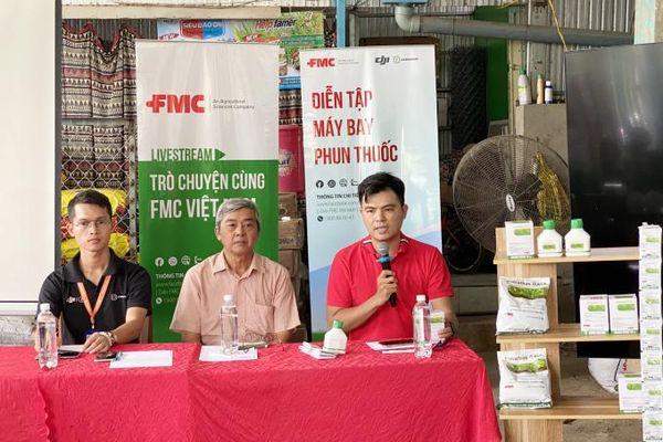 FMC Việt Nam trình diễn phun thuốc BVTV bằng máy bay không người lái