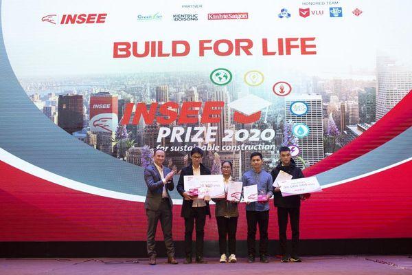 Sinh viên Đại học Kiến trúc Hà Nội đạt giải Nhất cuộc thi INSEE Prize 2020
