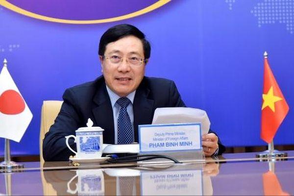 Phó Thủ tướng, Bộ trưởng Ngoại giao Phạm Bình Minh điện đàm với Thống đốc tỉnh Gunma Nhật Bản