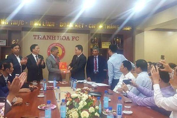 Đội bóng Thanh Hóa chính thức về tay Đông Á