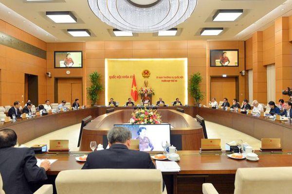 Công bố 12 Nghị quyết của Quốc hội, Ủy ban Thường vụ Quốc hội khóa XIV
