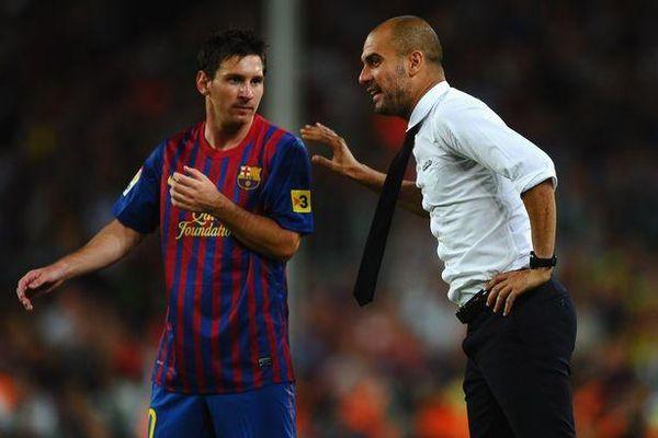 Pep Guardiola khuyên Messi điều không ai ngờ