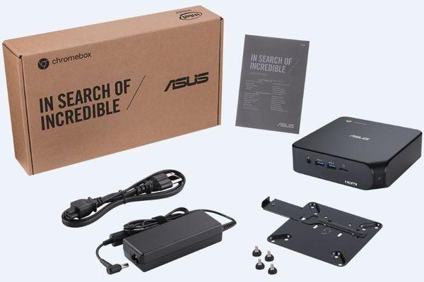 Chromebox 4: PC Mini của Asus, chip Intel 10, RAM 8GB, SSD 512, giá hấp dẫn