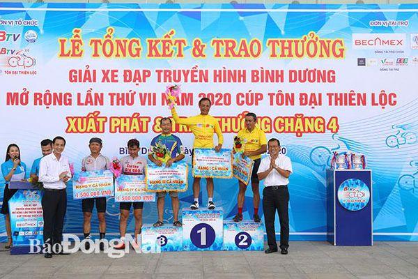 Sài Gòn Velo thắng áp đảo Giải xe đạp BTV mở rộng lần 7-2020
