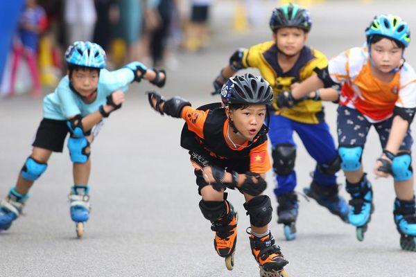 Hấp dẫn giải đua Roller Sports Hà Nội mở rộng 2020