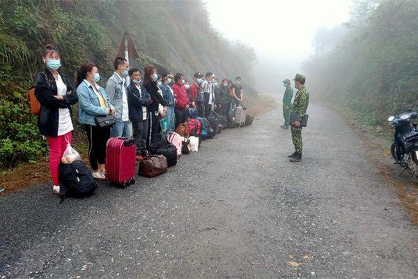 Kiên quyết không để lọt người xuất, nhập cảnh trái phép qua biên giới