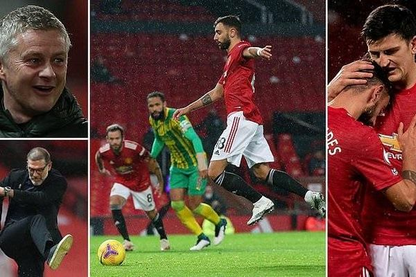 Man United gặp may, Tottenham lên vị trí số 1 Premier League