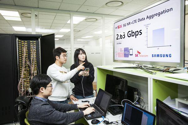 SK Telecom và Samsung hợp tác phát triển hệ thống mạng lõi cho 5G