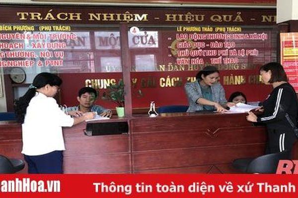 Huyện Đông Sơn đẩy mạnh cải cách hành chính