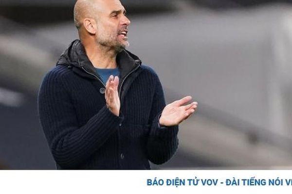 Man City thua Tottenham, HLV Pep Guardiola thừa nhận sự thật cay đắng