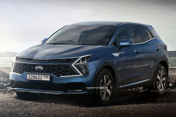 Kia Sportage 2022 sẽ có phiên bản trục cơ sở kéo dài