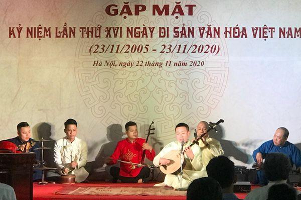 Hà Nội: Gặp mặt kỷ niệm Ngày Di sản Văn hóa Việt Nam