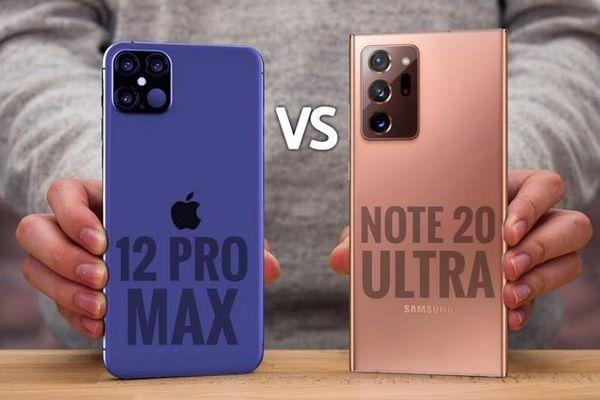iPhone 12 Pro Max vs Samsung Galaxy Note 20 Ultra: Đâu là mẫu flagship tốt nhất trong năm nay?