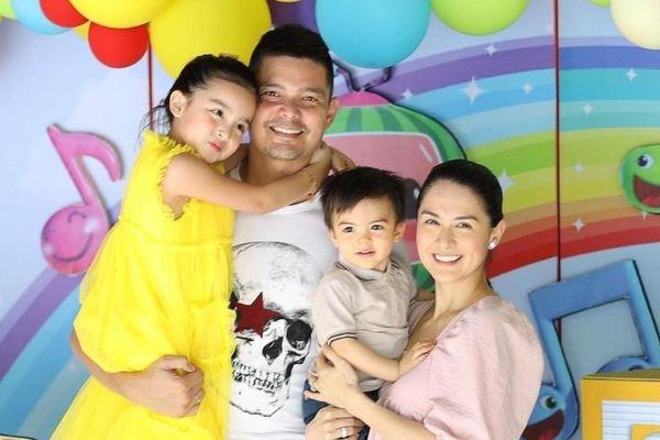 Con gái mỹ nhân Marian Rivera đón sinh nhật 5 tuổi