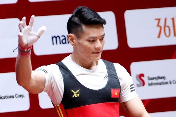 Cử tạ Việt Nam có thể bị cấm dự Olympic Tokyo