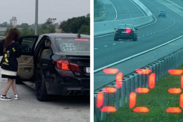 Một tài xế lái xe ô tô với tốc độ 'kinh hoàng' 223km/h