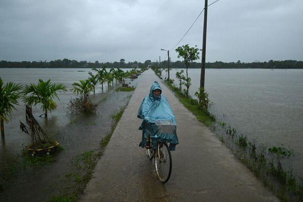 Cảnh mưa lũ Việt Nam trong chùm ảnh thiên tai 2020