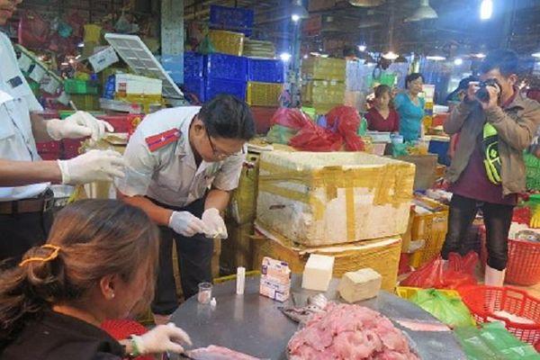 Test nhanh kiểm tra ATTP chợ truyền thống
