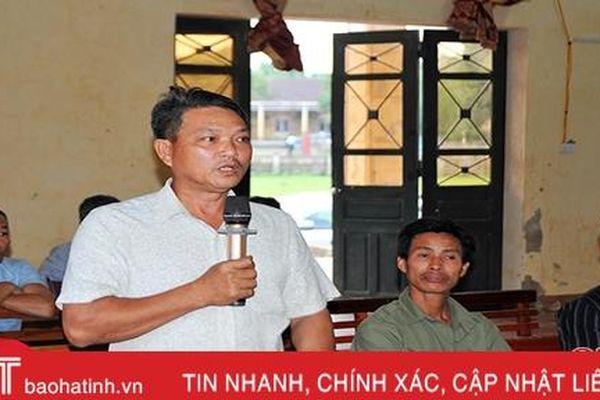 Cử tri Hương Khê, Hồng Lĩnh kiến nghị đầu tư xây dựng các công trình xuống cấp