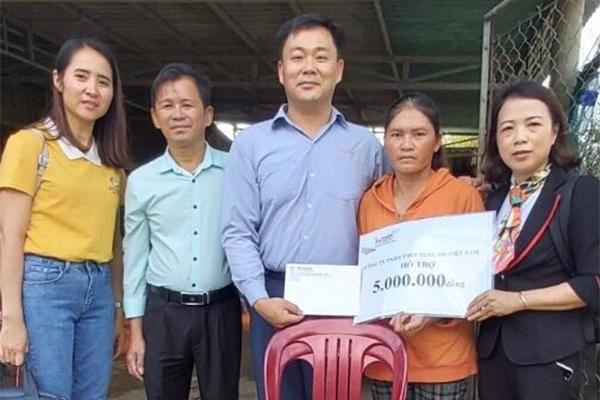Gần 144 triệu đồng ủng hộ CCB miền Trung