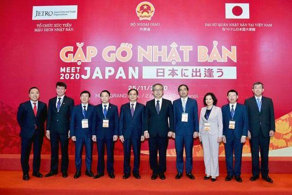 Tăng cường kết nối, mở rộng giao lưu, hợp tác với các đối tác Nhật Bản