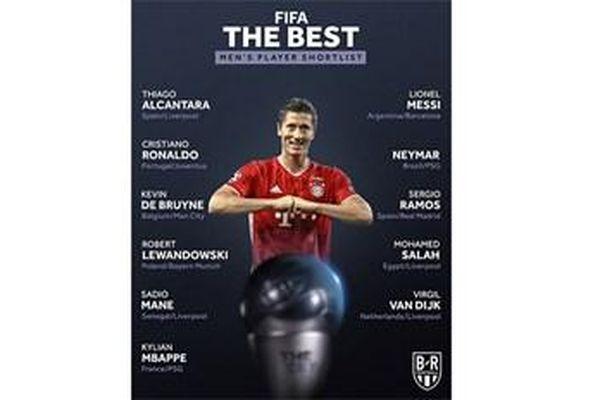 FIFA công bố ứng viên danh hiệu The Best 2020