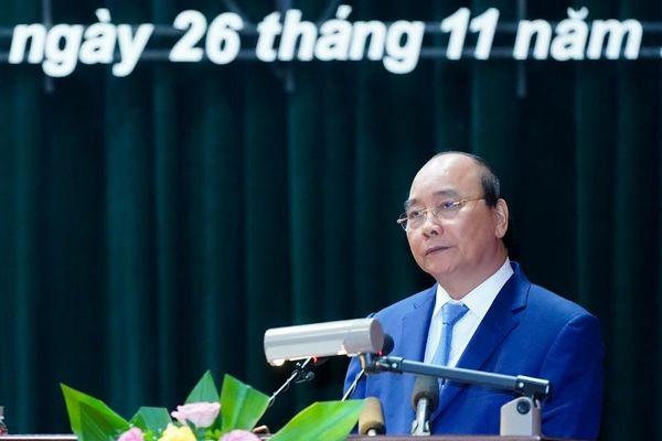 Thủ tướng Nguyễn Xuân Phúc thăm làm việc tại Học viện Quốc phòng
