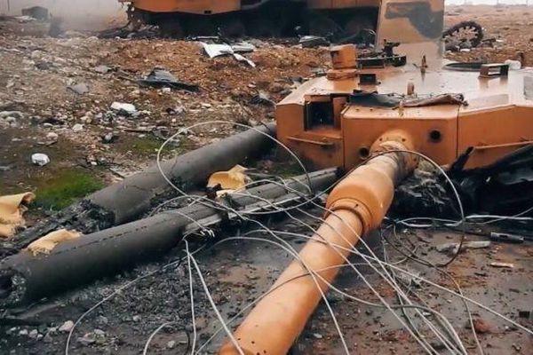 Hàng loạt xe tăng M60TM 'bất khả chiến bại' của Thổ Nhĩ Kỳ tan tành trên chiến trường Idlib