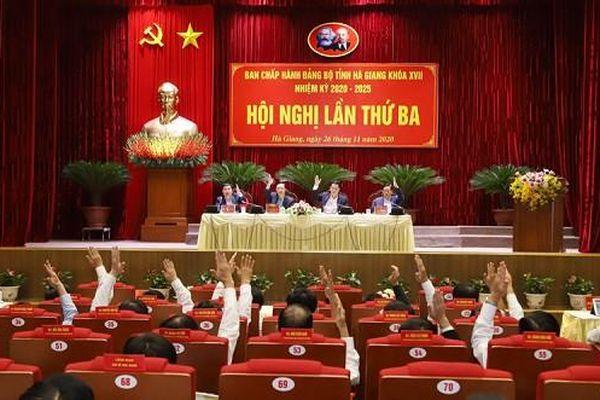 Hội nghị lần thứ 3 Ban chấp hành Đảng bộ tỉnh Hà Giang: Bàn giải pháp thúc đẩy phát triển kinh tế - xã hội