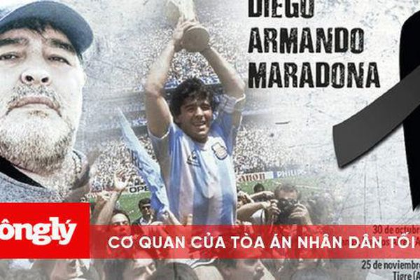 Maradona ra đi để trở về với vòng tay của Chúa